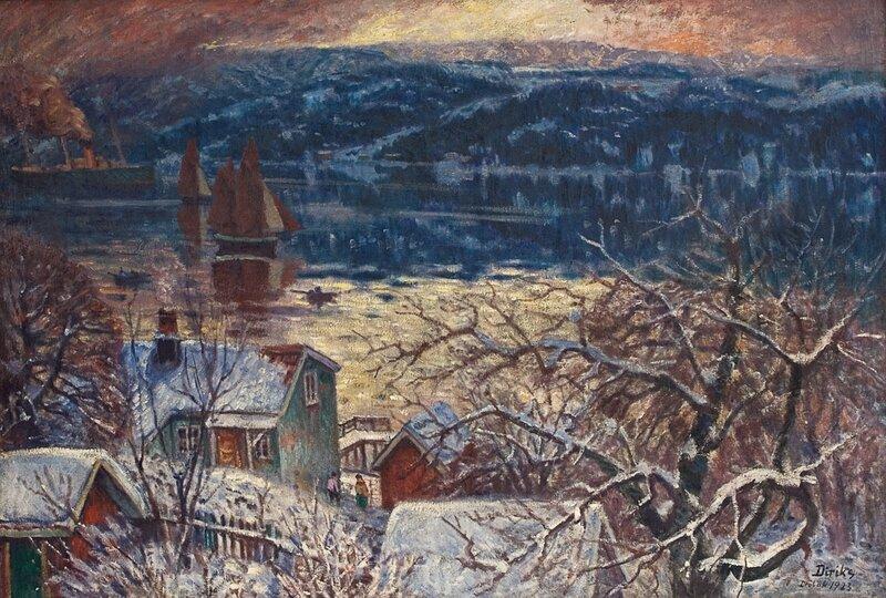 Fra Drøbaksundet 1923