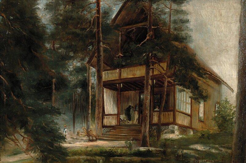 Fra Hankø 1895