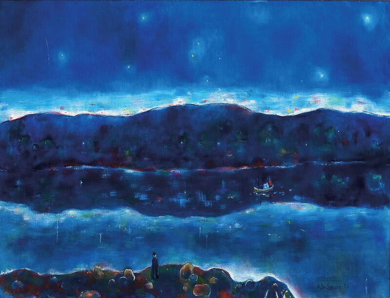 Natt med stjerner, stjernenes natt 1993