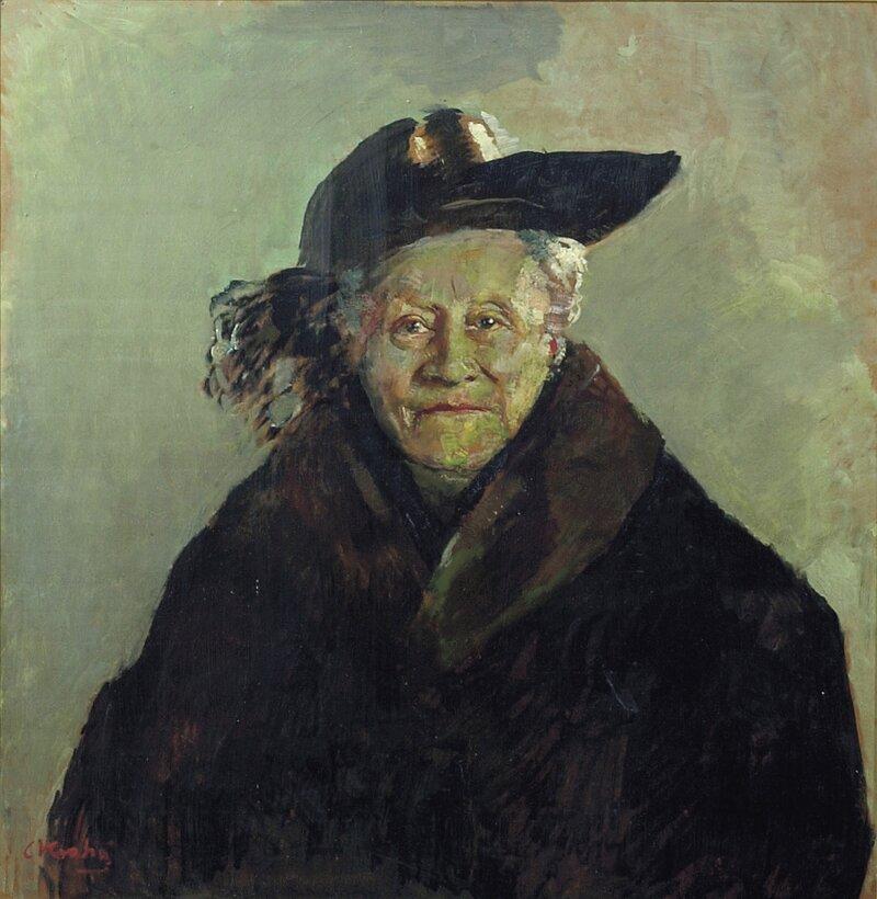 Portrett av Barbra Ihlen Larssen