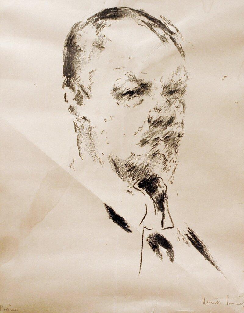 Mannsportrett, Jens Thiis