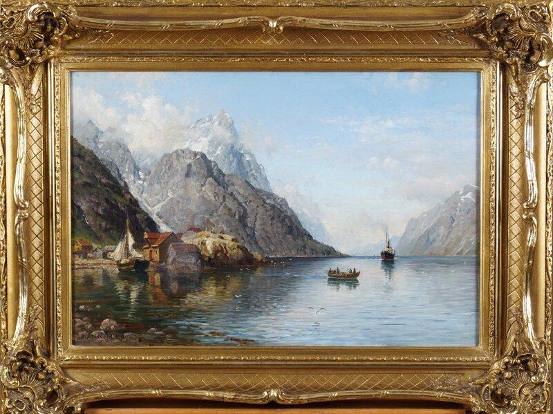 Fjordlandskap 1894