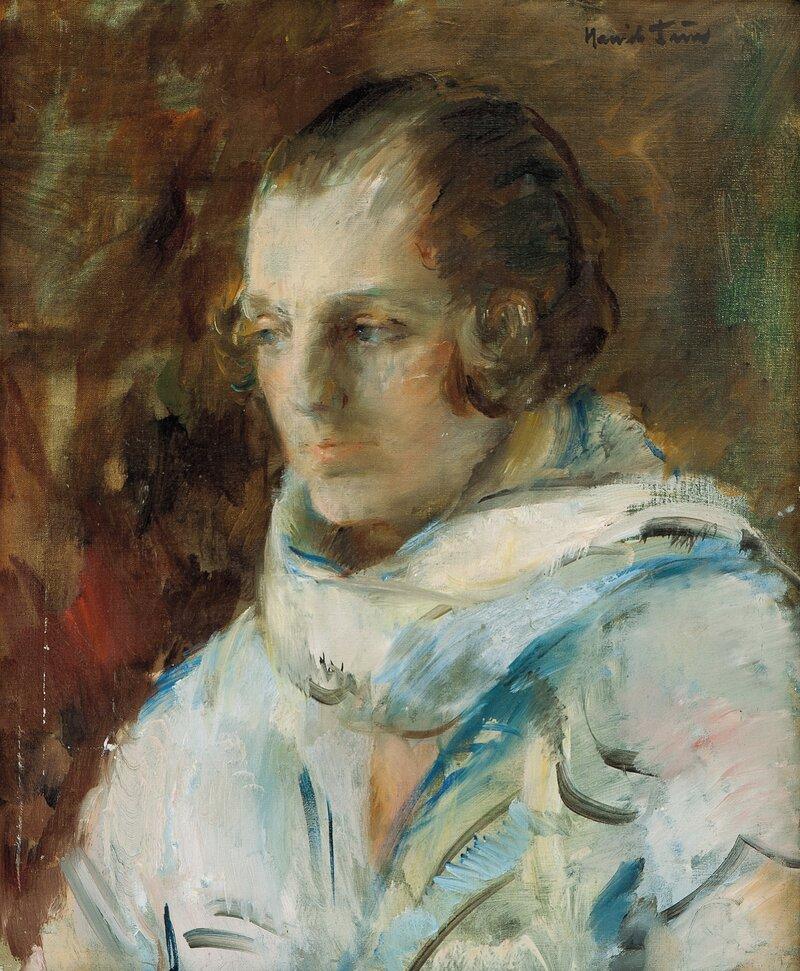 Portrett av kunstnerens hustru, Gunbjør