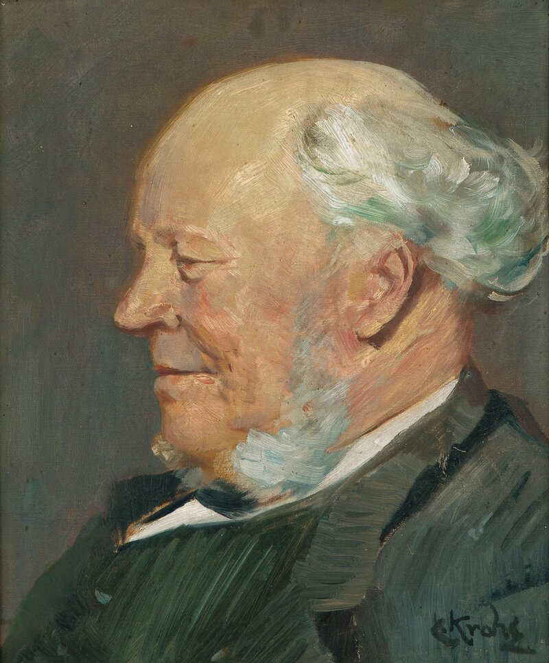 Portrait of Anders Nielsen, Grimstad