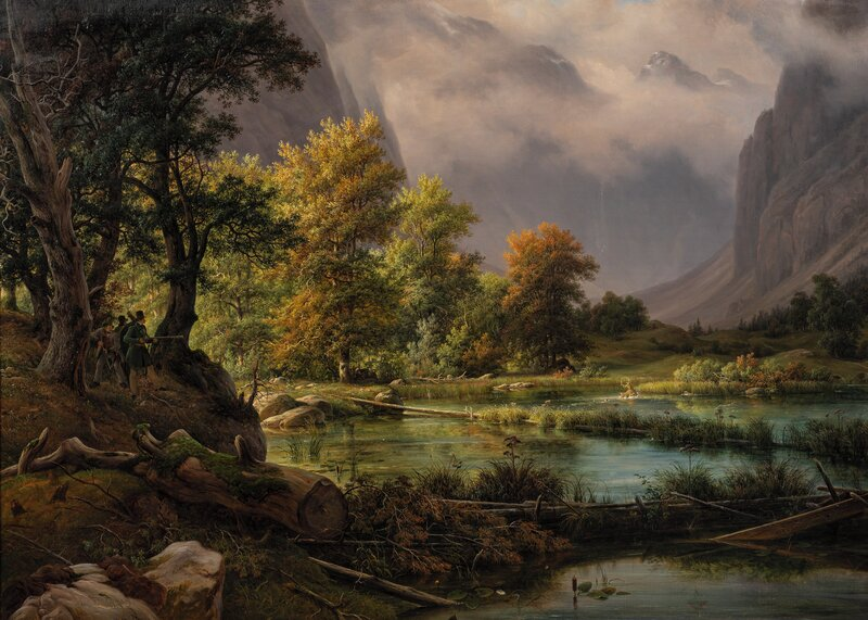 The Hunt by Königsee 1839