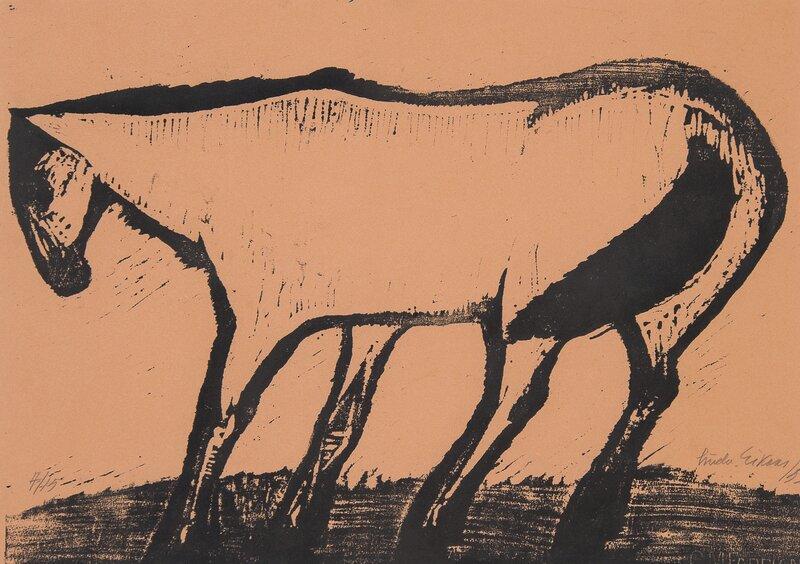 Hest i vind 1953