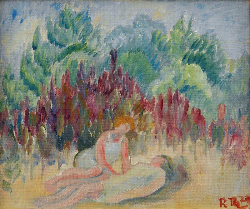 Kvinner i landskap 1923