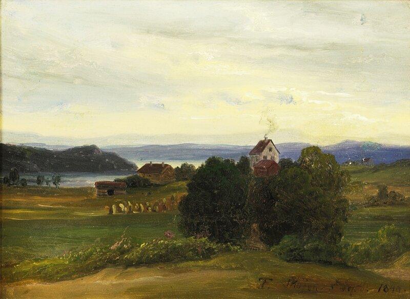 Fra øvre Skøyen 1840