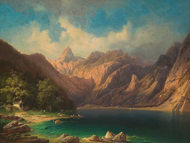 Alpelandskap 1850