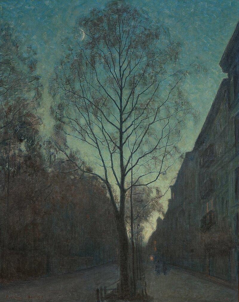 Fra Kristiania, april 1917