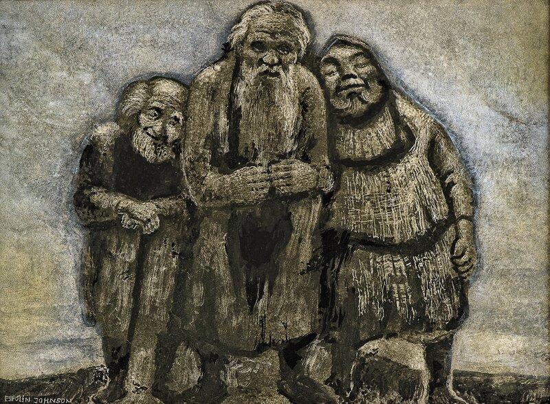 De tre gamle menn