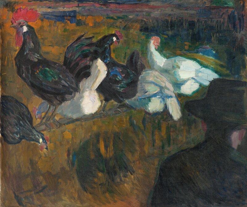Høner og hane