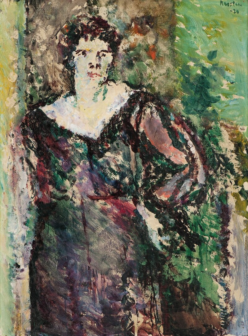 Kvinneportrett 1920