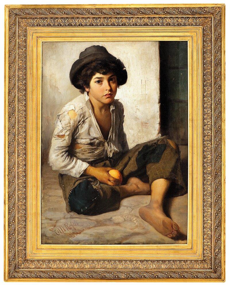 Italiensk gategutt (Appelsingutten) 1881