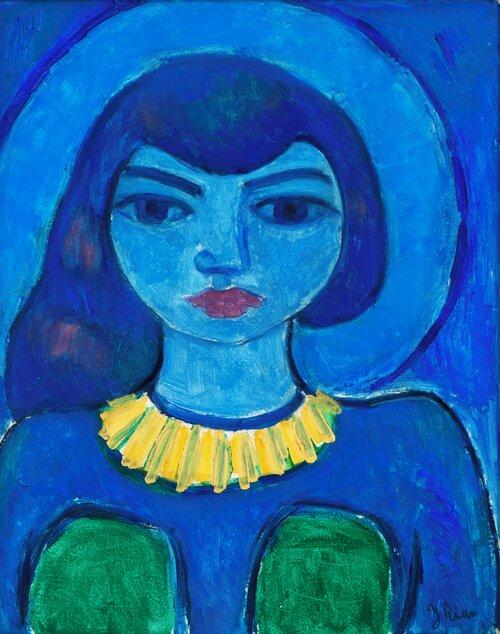 Den blå Madonna