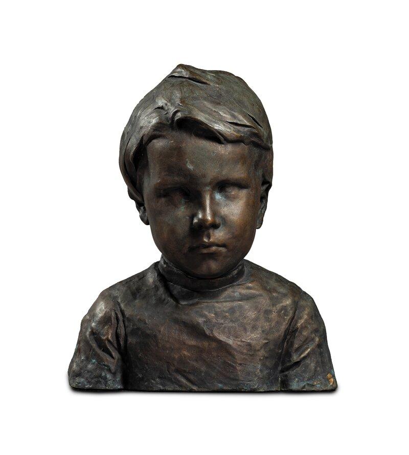 Bust of Trine Louen 1892