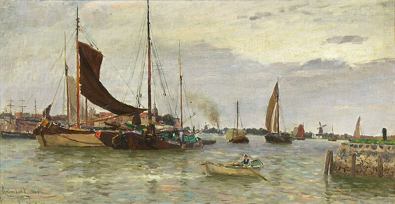 Havneparti Nederland 1884