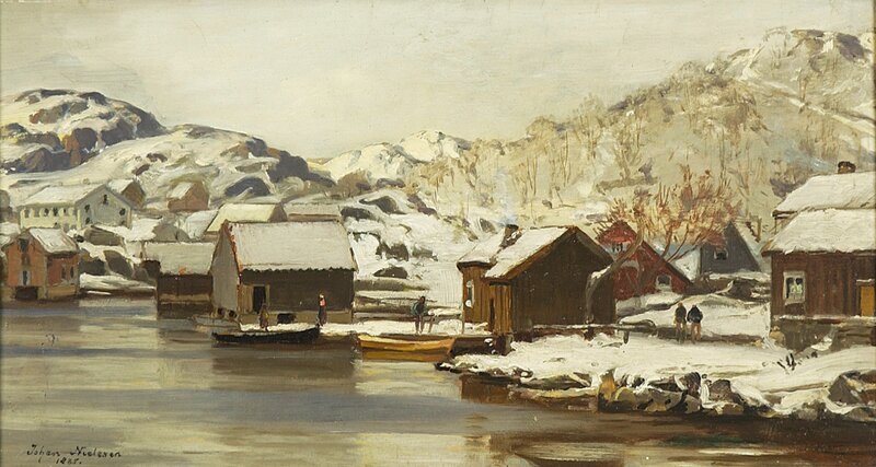 Fiskevær i Nord-Norge 1885
