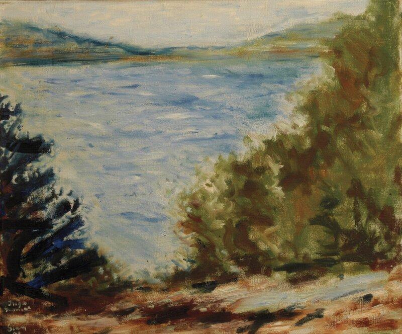 Fjordlandskap 1930