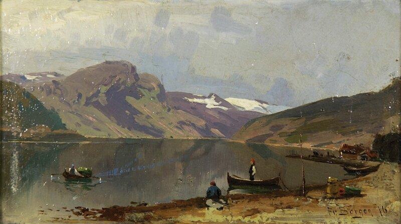 Fra Kroken i Sogn 1876