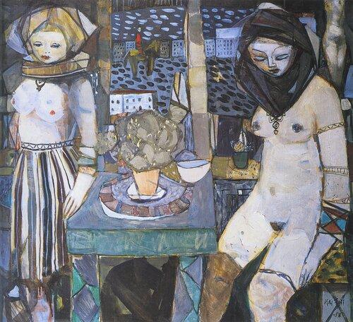 Kvinner i interiør 1958