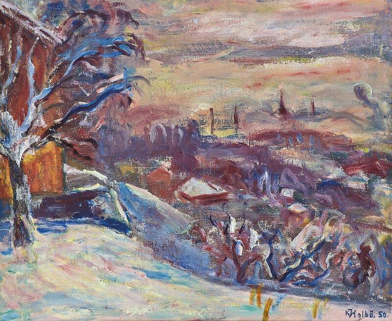 Vinter, Lillehammer 1950