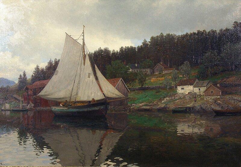Stille bukt i Christianiafjorden
