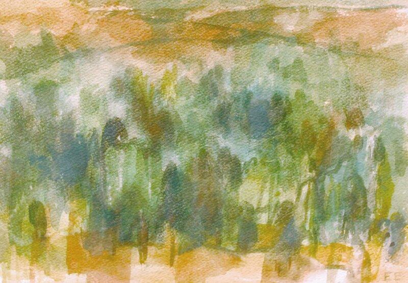 Høstlandskap med trær