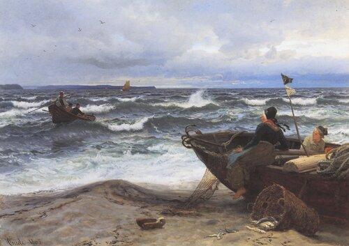 Ved stranden av Rügen 1883