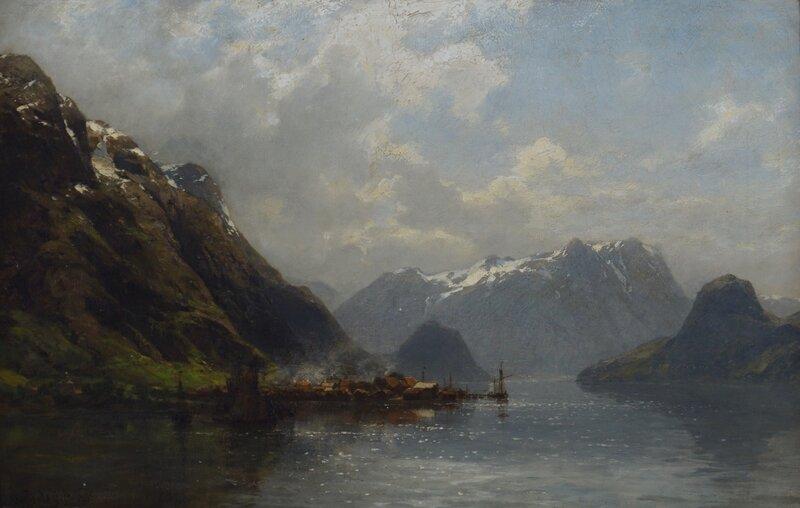 Veblungsnes i Romsdalen 1885