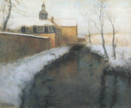 Sne og vann, Nordfrankrike