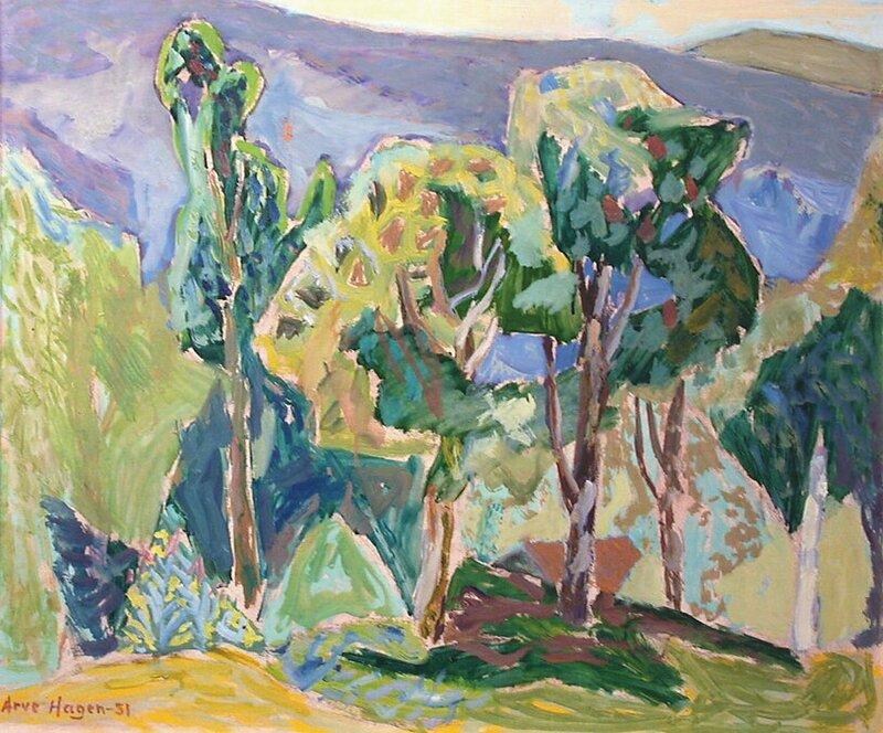 Rogn-trær 1951