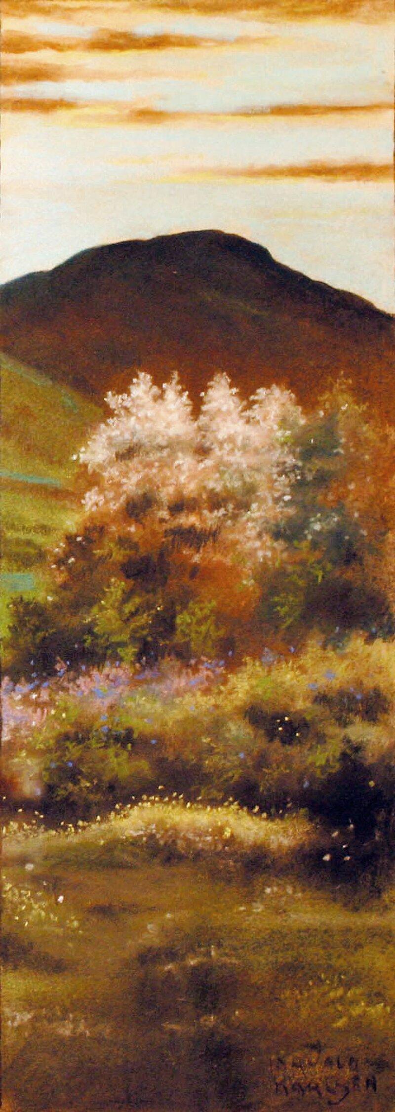 Frukttre i blomst
