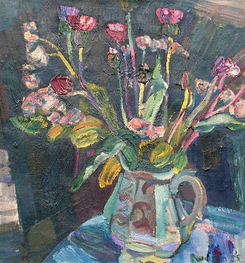 Blomster i mugge 1955