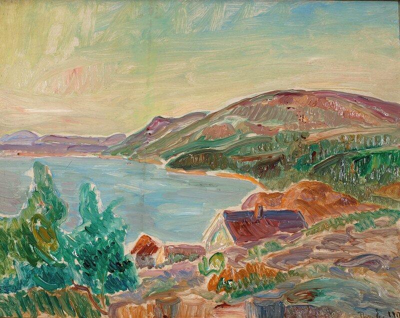 Fra Holmsbu 1917