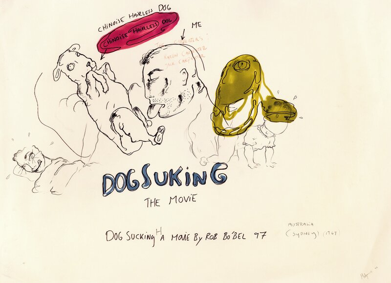 Uten tittel (Dog suking) 1997