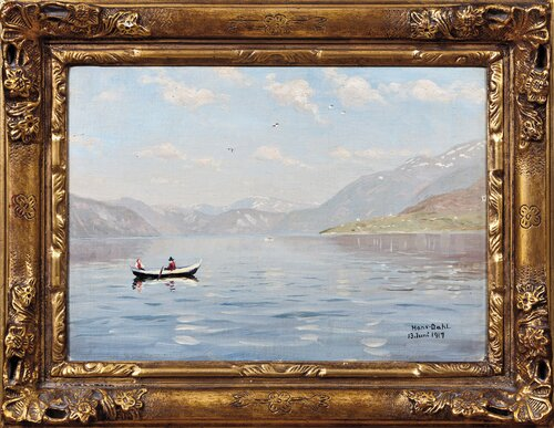 Summer day on the Sognefjord