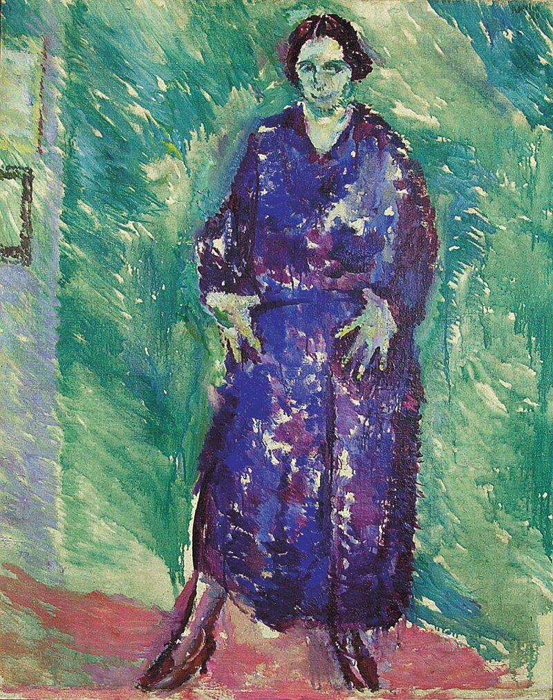 Portrett av Fru Inger Magnussen 1921