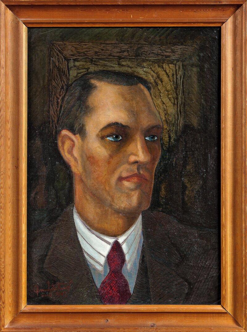 Portrett av Madsen mai 1943