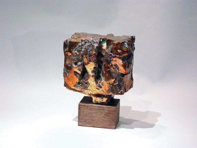 Abstrakt bronse 1969