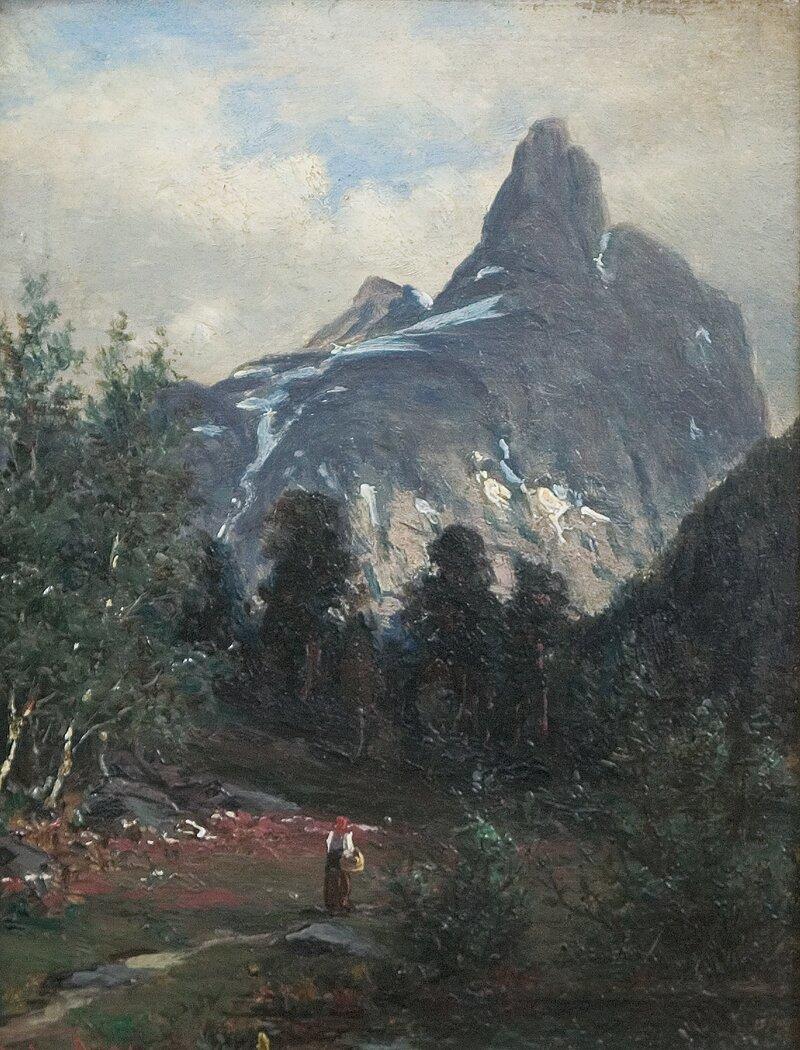 Romsdalshorn 1886