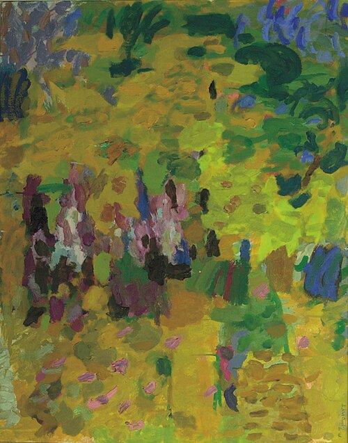 Komposisjon i gult 1966-68