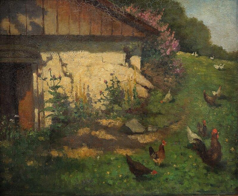 Ved hønsehuset