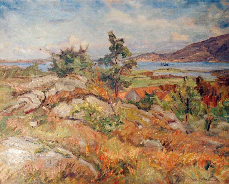 Utsikt mot Gansfjorden