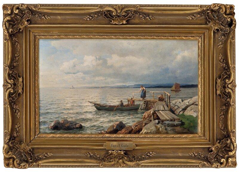 Fra Kristianiafjorden 1895