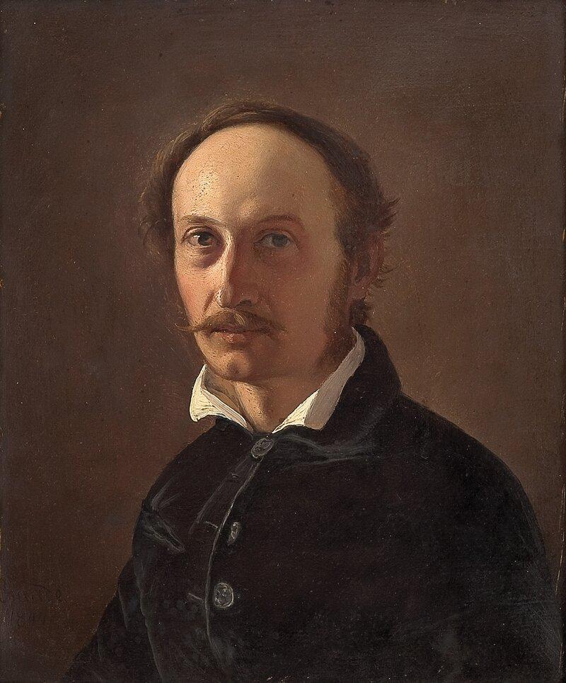 Selvportrett 1844