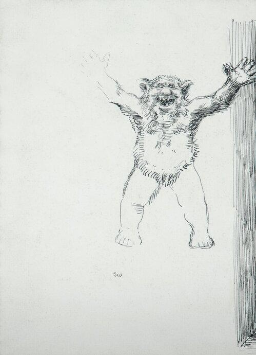 Leende troll