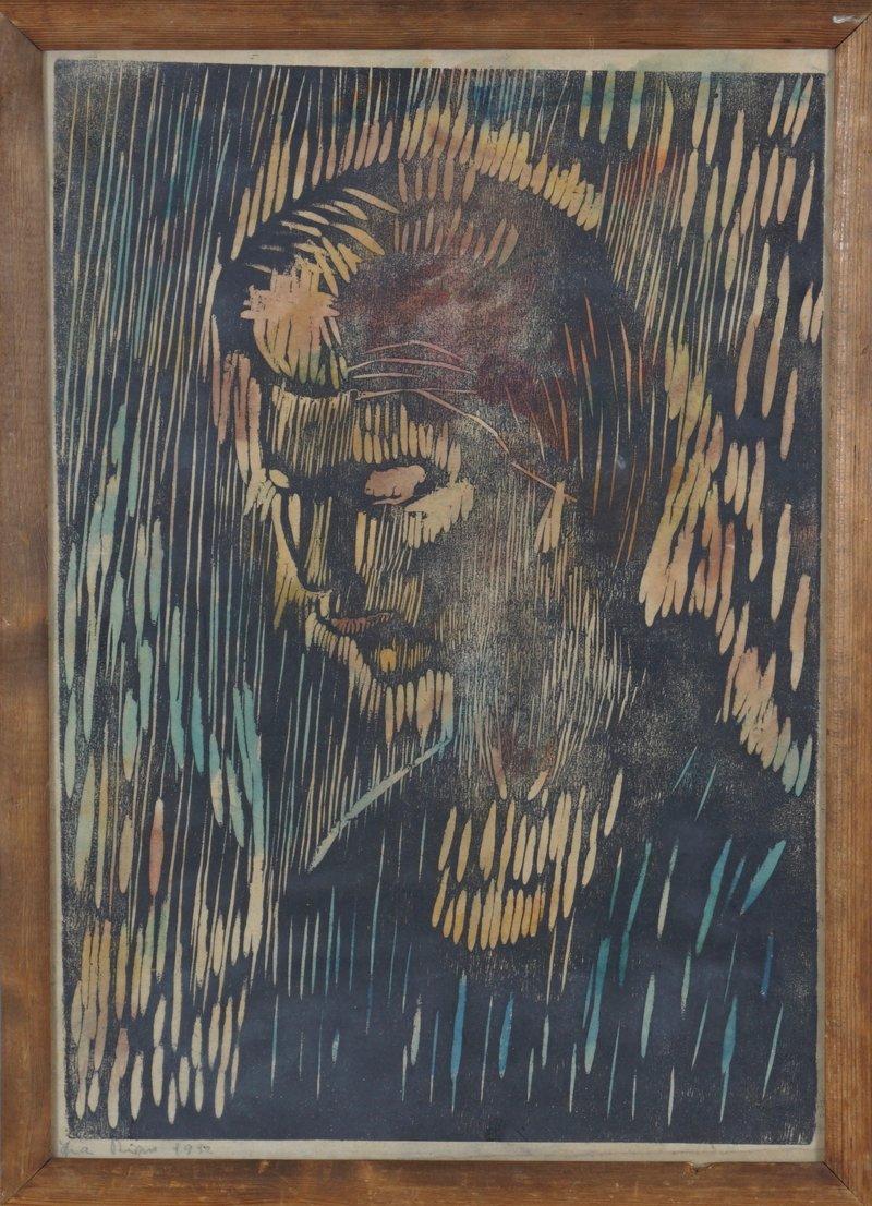 Portrett av ung kvinne 1932