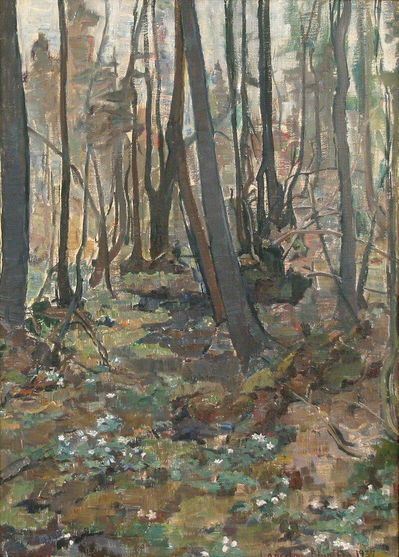 Skogsinteriør 1937