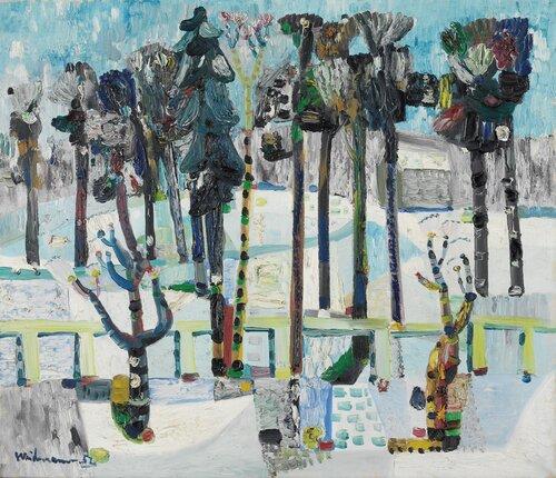 Vinterlandskap 1952